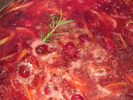 FIREBALL Cranberry Meyer Lemon Conserve