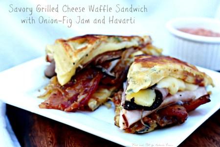 Grilled Waffle Sandwich Recipe