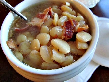 Lima Bean and Bacon Stew