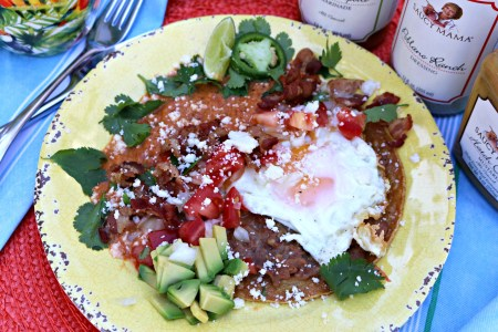 Huevos Rancheros – 2017 Saucy Mama Recipe Contest Entry