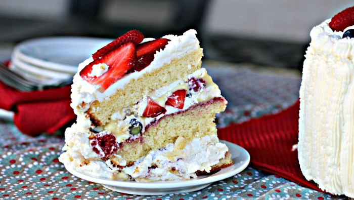 Rebecka's Cream Cake Slice 1