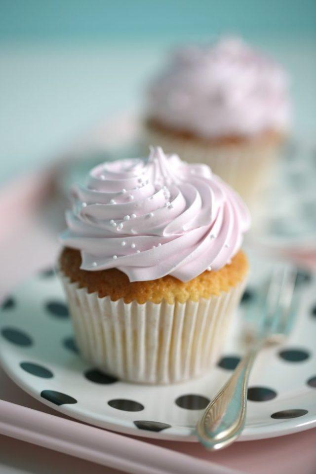 Manuel's Recipe Vanilla Cupcakes