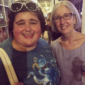 Ava with Lisa Keys, Chopped Champion