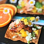 Cedar Bay Orange Ginger Salmon Nachos