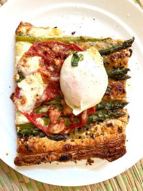 Asparagus Tomato Tart