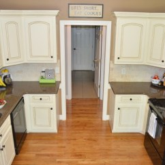 Glazed Kitchen Cabinets Sink Sprayer Parts How To Glaze At Home With The Barkers