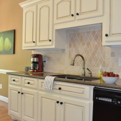 Glazed Kitchen Cabinets Faucet How To Glaze At Home With The Barkers
