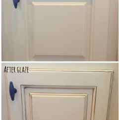 Glazed Kitchen Cabinets Electrics How To Glaze At Home With The Barkers