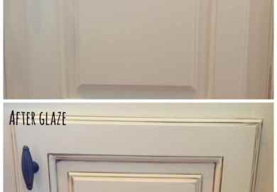 Glazed Kitchen Cabinets Before And After