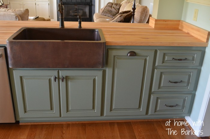 glazed kitchen cabinets countertop decor how to glaze at home with the barkers