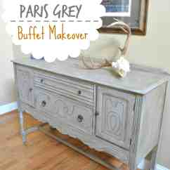 Grey Painted Chairs Green Velvet Swivel Chair Paris Buffet Table At Home With The Barkers
