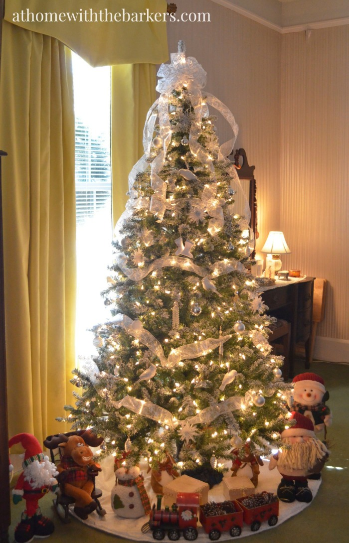 Victorian Christmas Home Tour At Home With The Barkers
