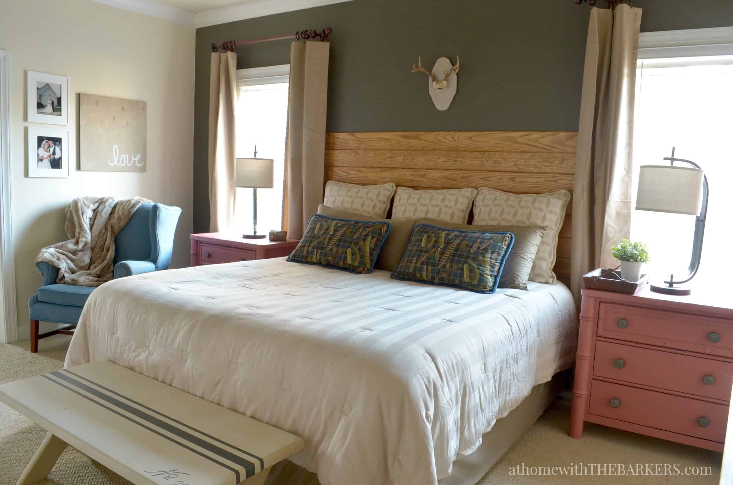 Master Bedroom Makeover Update  At Home With The Barkers