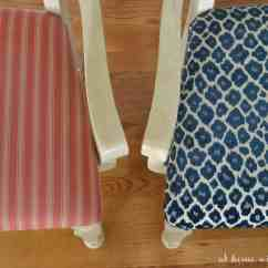 At Home Chairs Step Stool Chair Retro How To Recover Kitchen With The Barkers