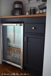 How to build a Beverage Bar - At Home with The Barkers