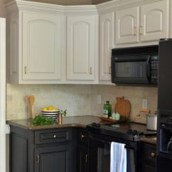 Kitchen Black Cabinets Rustic Chandelier The Ugly Truth At Home With Barkers Painted A Review