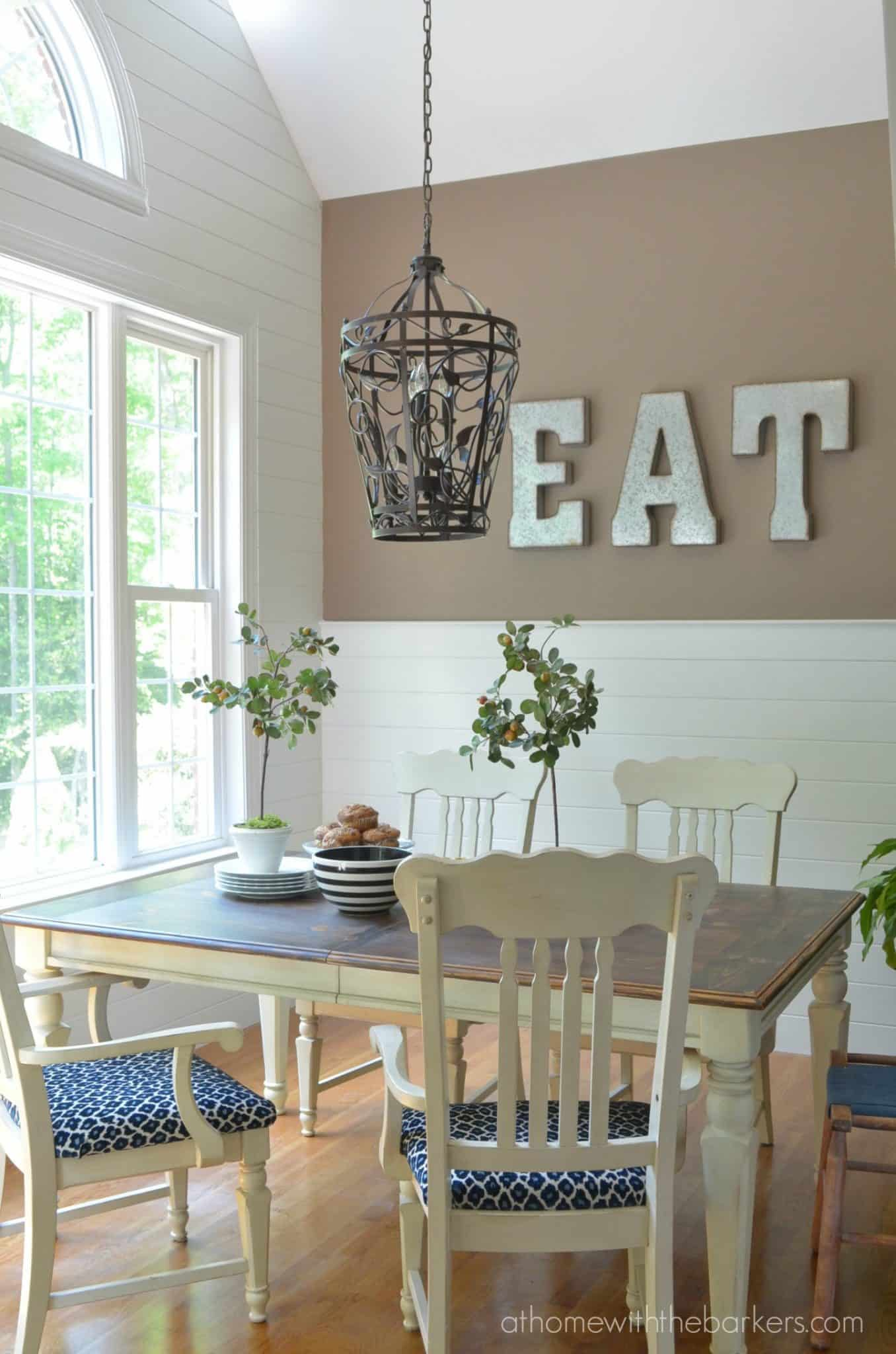 kitchen make over sage green cabinets decorating with wood planks