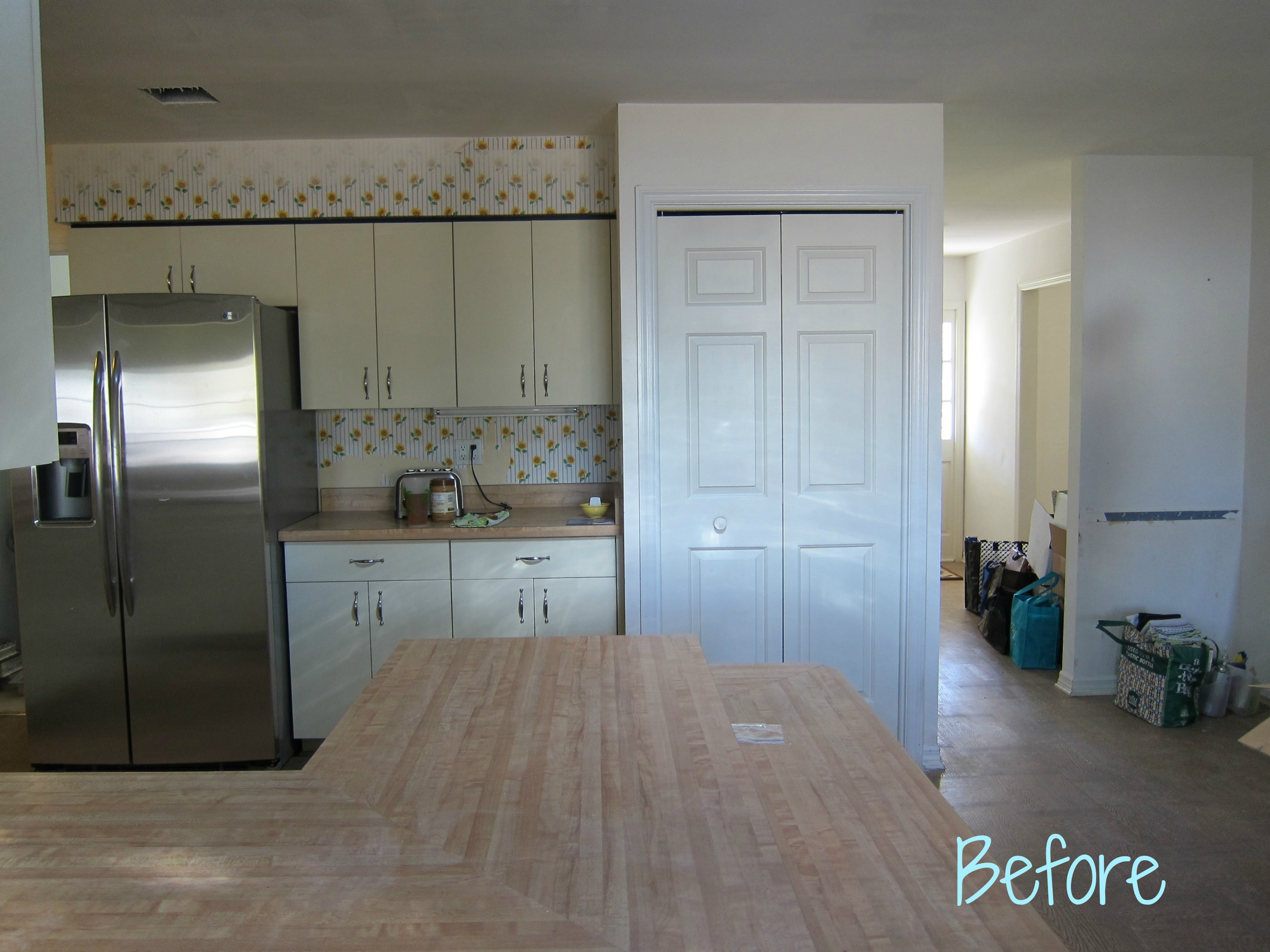 hope kitchen cabinets home depot glass tile backsplash remodel | the fetch ranch