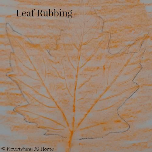 Leaf rubbing 1