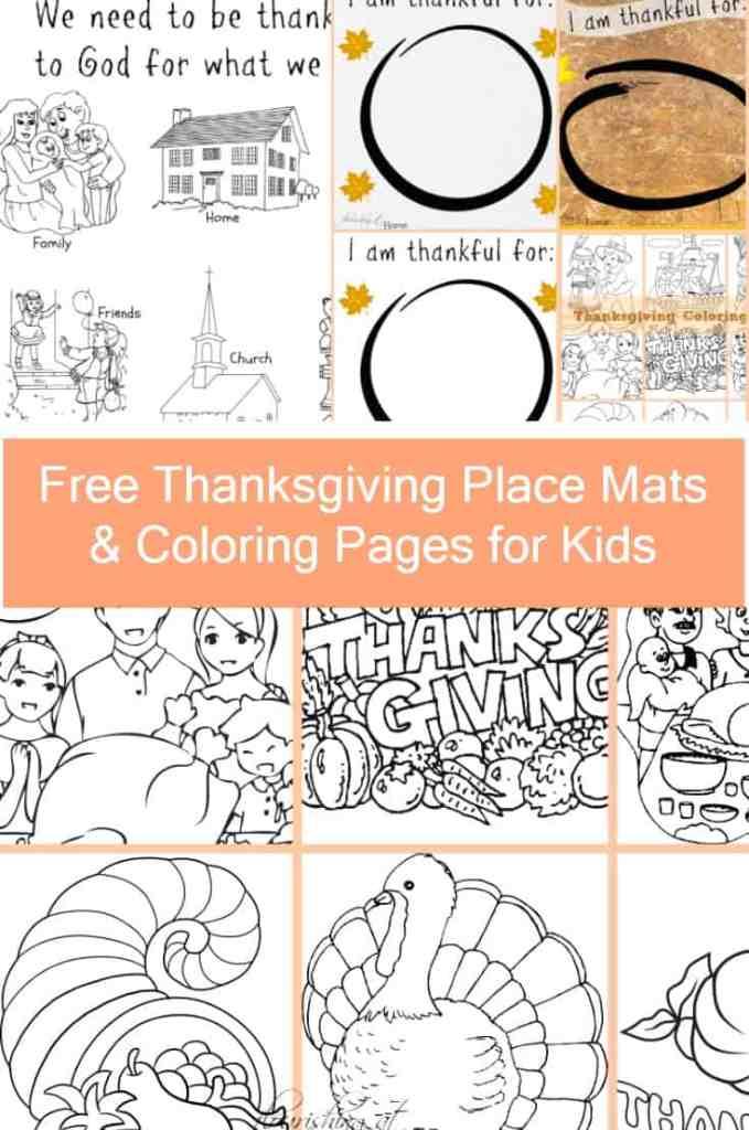 Thanksgiving Place Mats