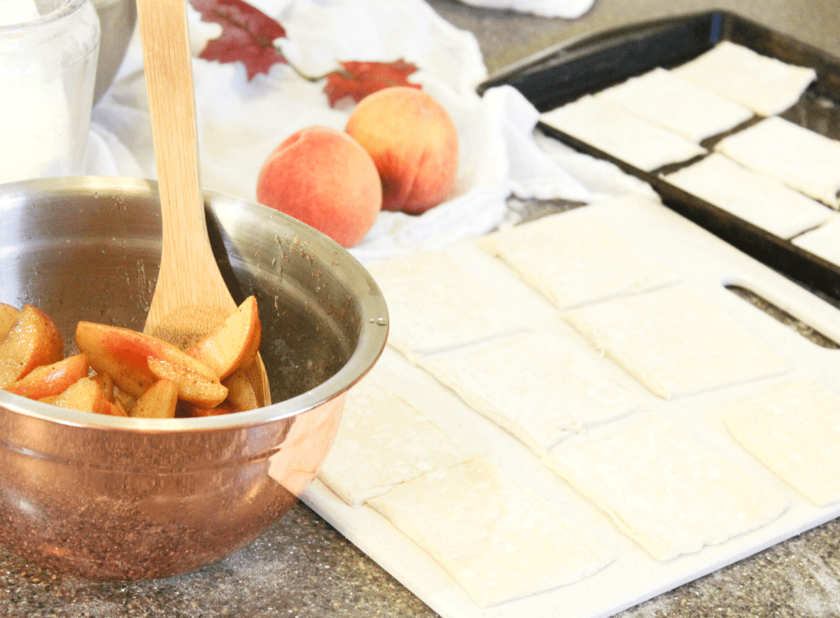 puff-pastry-peach-tartlets-making