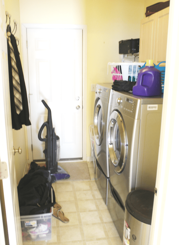 Disorg Laundry Room