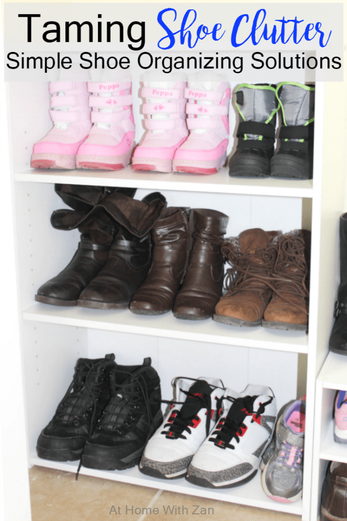 Taming Shoe Clutter Simple Shoe Organizing Solutions