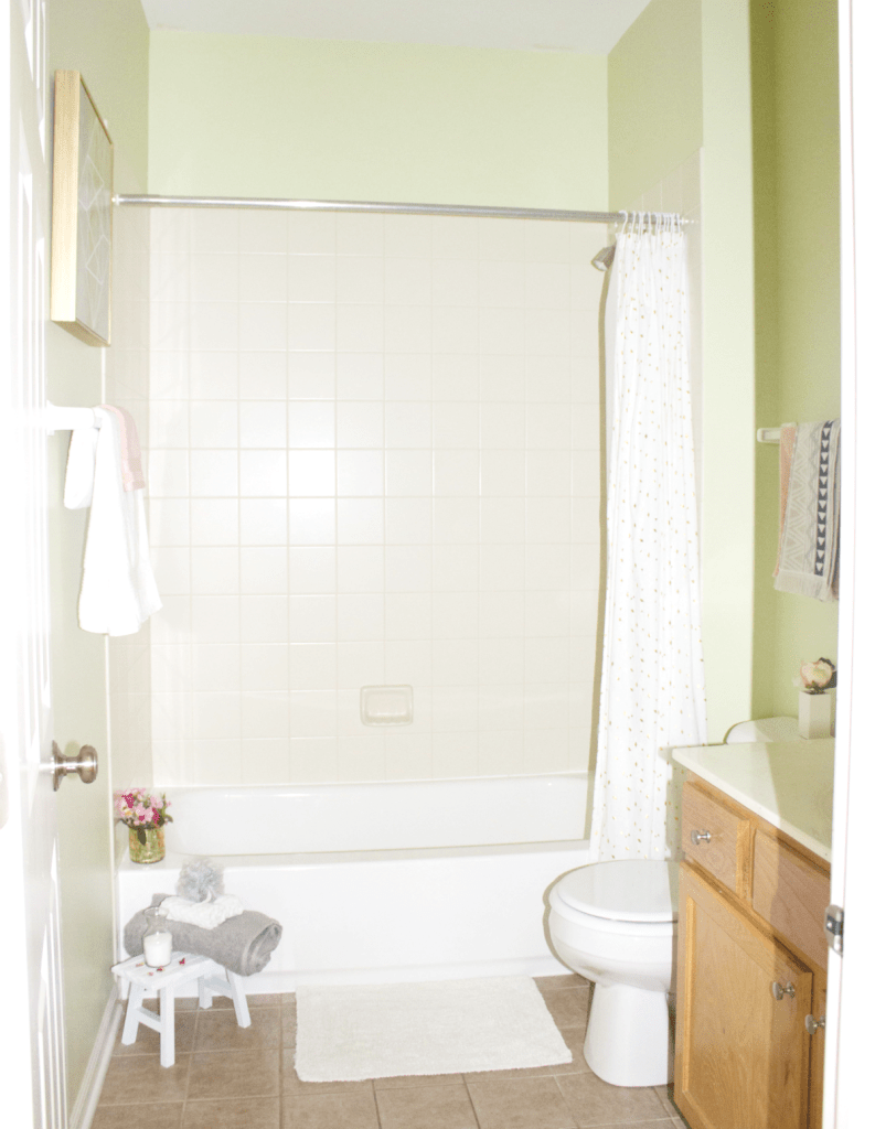 Small Bathroom Refresh - Modern Decor - Modern Decor - Quilted Northern Ultra Soft & Strong - At Target - At Home With Zan