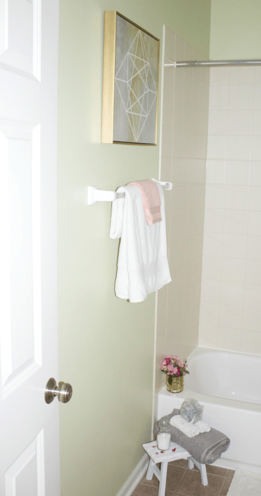 Small Bathroom Refresh - Modern Decor -With Modern Decor - Quilted Northern Ultra Soft & Strong - At Target - At Home With Zan
