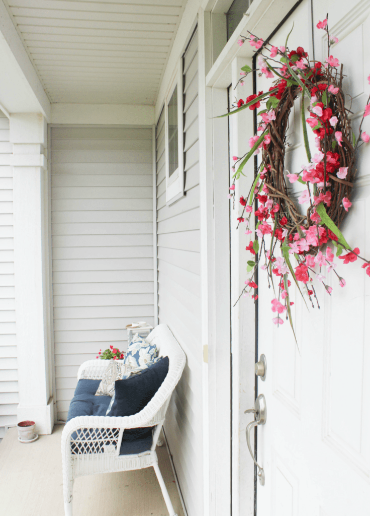 Spring and Summer Wreath - At Home with Zan