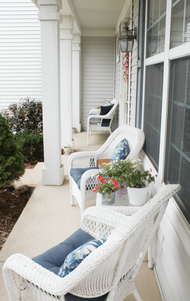 Summer - Wreath - Spring Wreath - Porch Decor - At Home With Zan -