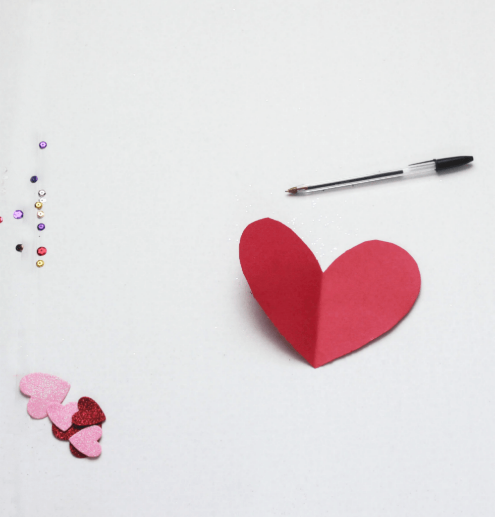 DIY Valentine's Heart Cards - For Kids - DIY Valentine's Cards - At Home With Zan