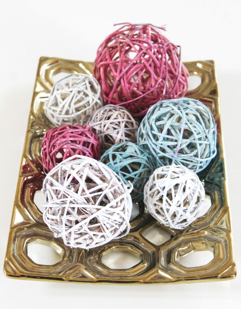 DIY - Colorful Decorative Ball Set - At Home With Zan-