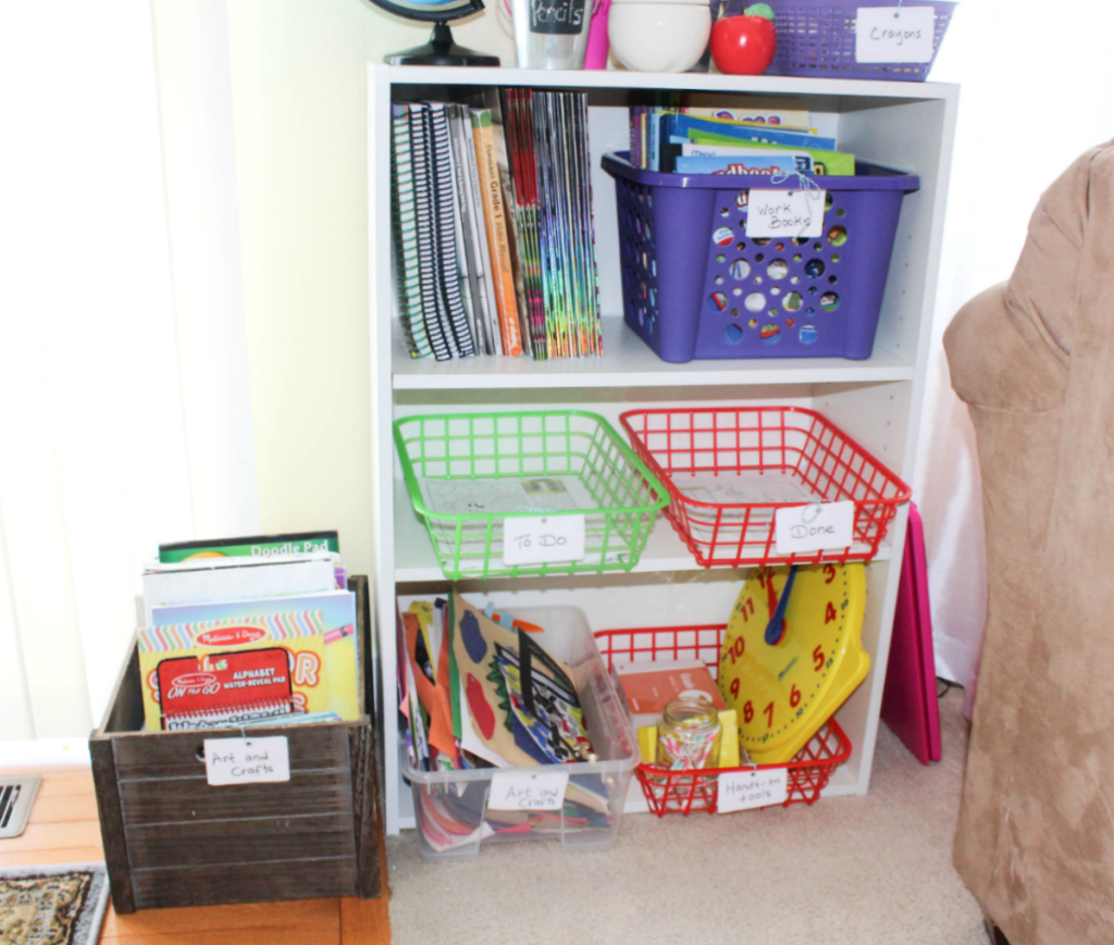 Homeschooling and Homeschool Organization - At Home With Zan
