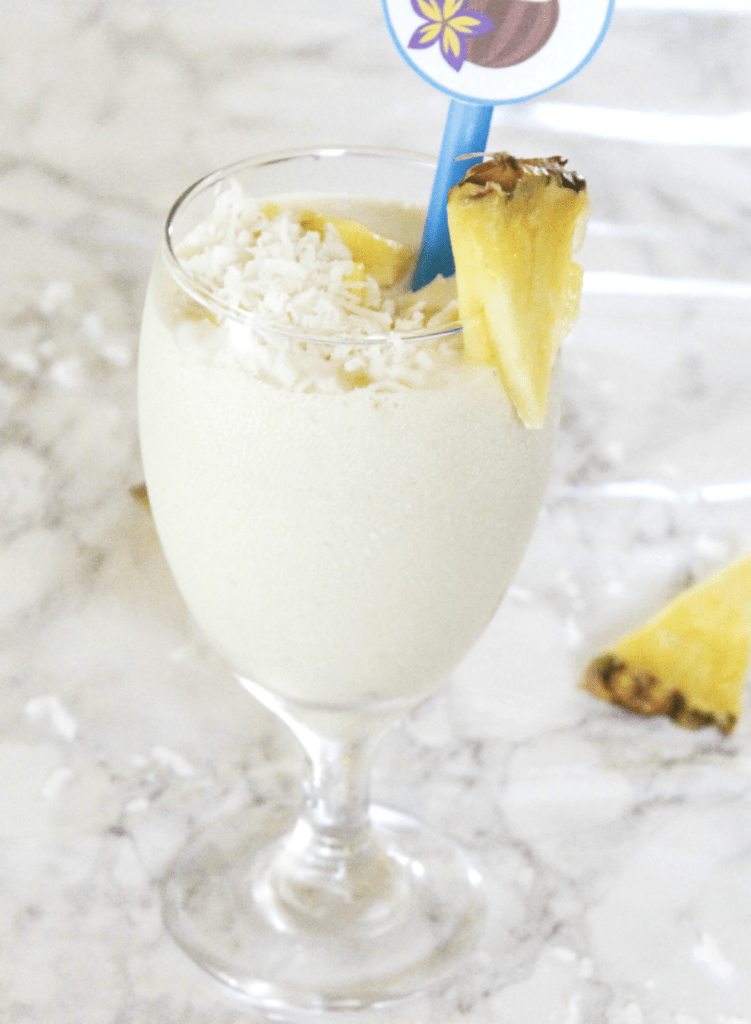Pineapple Mango Coconut Smoothie - At Home With Zan