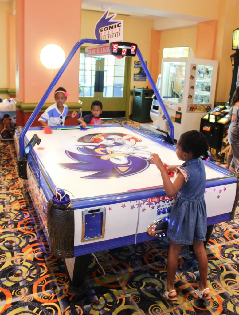 Disney -Dolphin -Resort-Review-Hotel-Game Room-Travel-Disney Vacation-Orlando-At Home With Zan