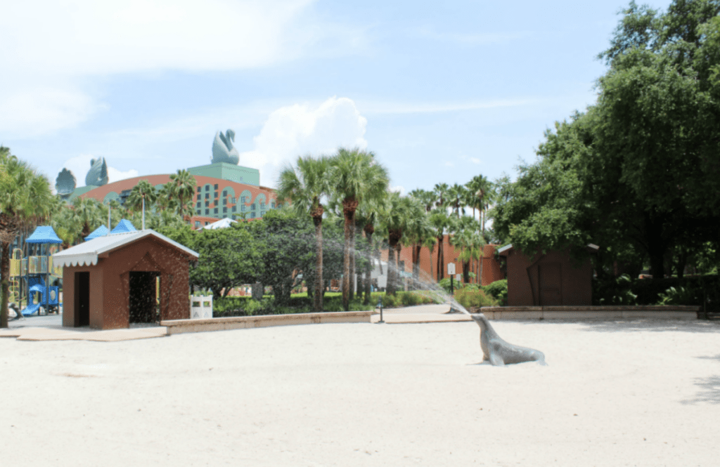 Disney -Dolphin -Resort-Review-Hotel-Playground Area -Travel-Disney Vacation-Orlando-At Home With Zan