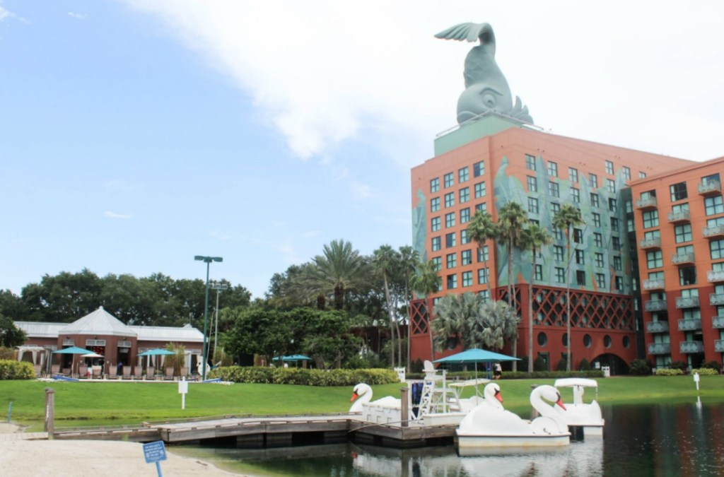 Disney -Dolphin -Resort-Review-Paddle Boats -Travel-Disney Vacation-Orlando-At Home With Zan