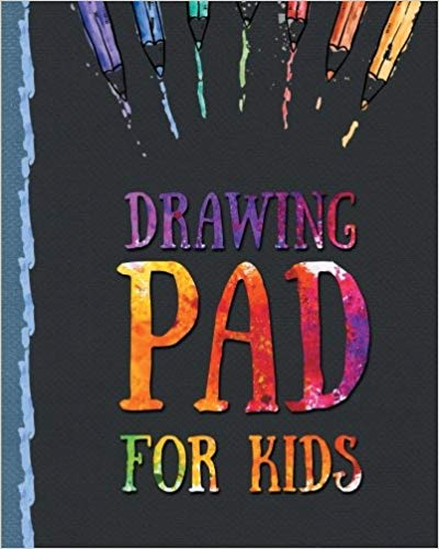Drawing Pad for Kids - Holiday Gift Guide for Girls 6-8 Years Old - At Home With Zan