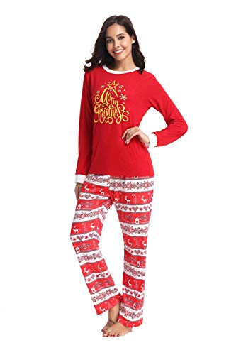 Holiday - Cotton Pajamas for Mom - Holiday Gift Guide for Moms and Dads - Parents Gifts - Spouse Gifts - At Home With Zan