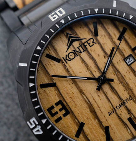 Konifer Watches - Klassic Kickstarter Project - From At Home With Zan