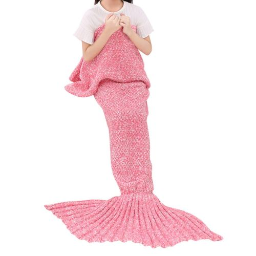 Mermaid Tail Blanket - Holiday Gift Guide - Girls 6-8 Years Old