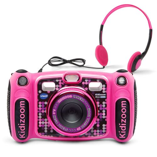 VTech Kidizoom Duo 5.0 Camera for Kids - Holiday Gift Guide for6-8 Year Olds - At Home With Zan
