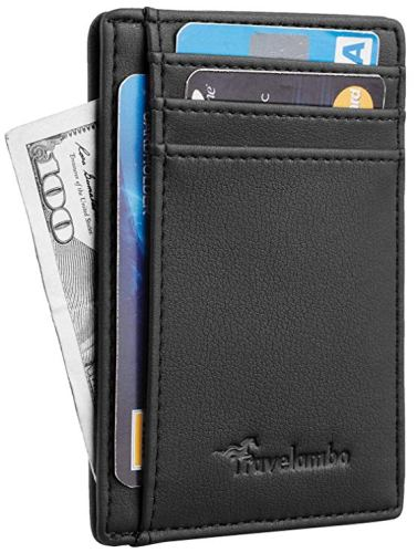 Wallet for Men -Gifts for Dads - Holiday Gift Guide for Moms and Dads - Parents Gifts - Spouse Gifts - At Home With Zan
