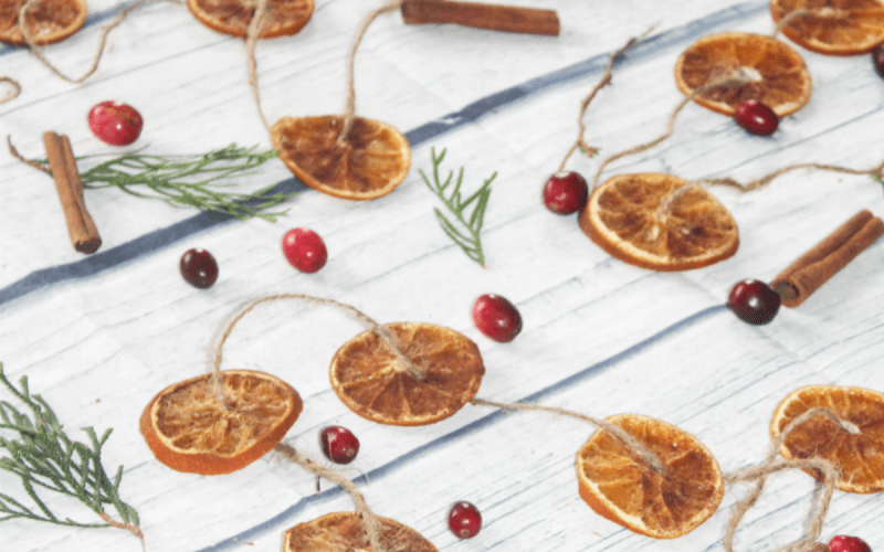 How to Dry Orange Slices for the Holidays