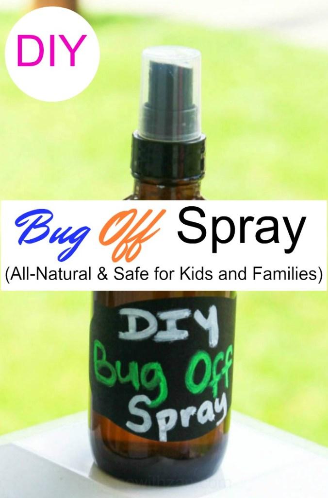 DIY All-Natural Bug Spray - Safe