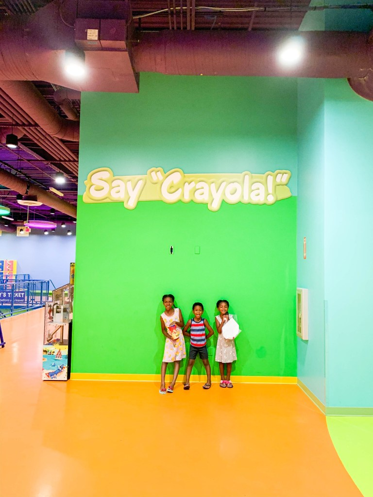 The crayola experience