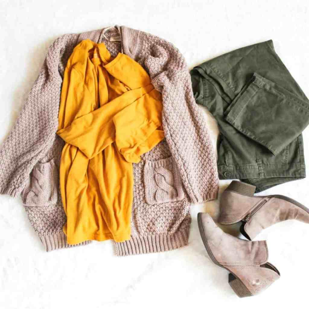 Fall Wardrobe Capsule
