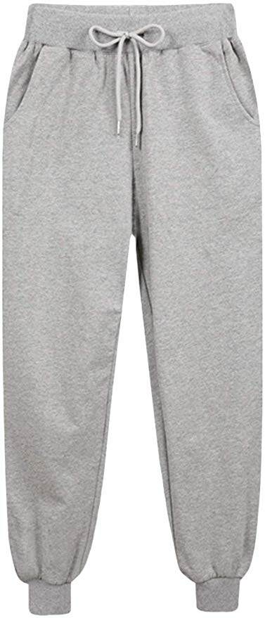 warm Sherpa sweat pants