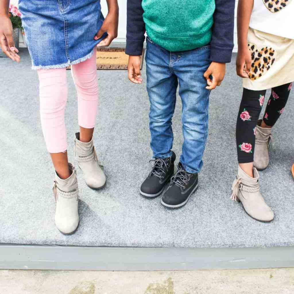 kids fall boots